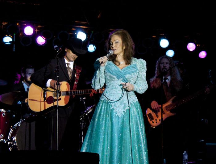 2) Loretta Lynn and Jack White - Portland, Oregon