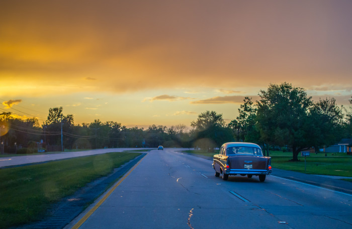 7) Hwy 23 during the evening commute.