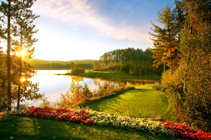 """7. Visit Giant's Ridge, Minnesota's phenomenal golf resort, ranked number 2 on Golf Digest's """"Top 10 Courses"""" with spectacular views!"""