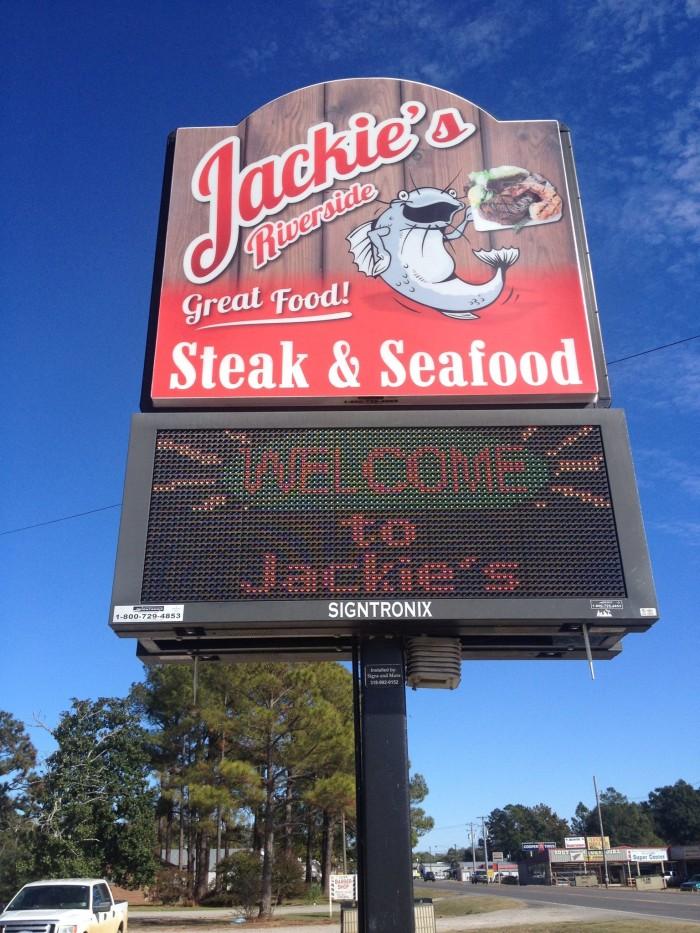 14) Jackie's Riverside, Jonesville