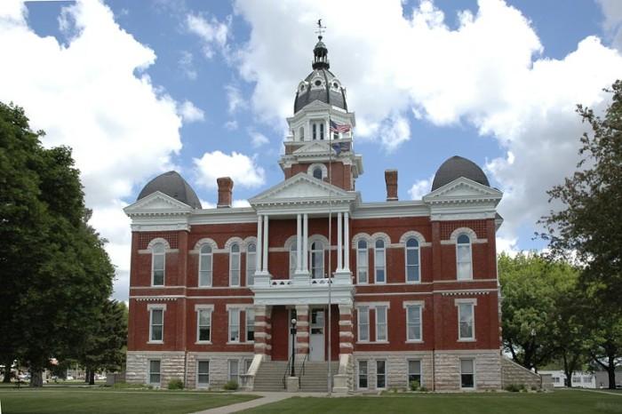 7. Johnson County Courthouse, Tecumseh
