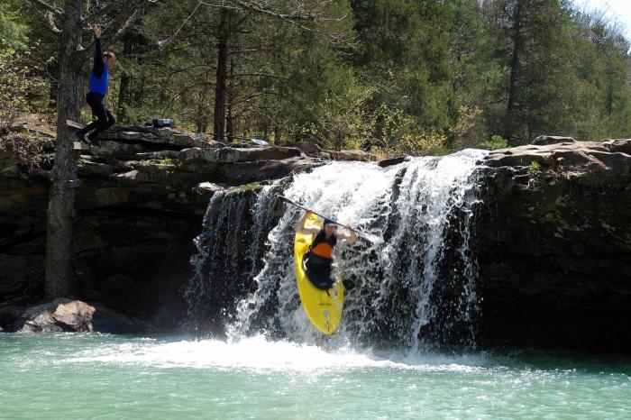 12. Kayaking: Look Out Below!