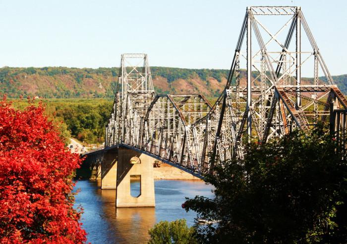7. Black Hawk Bridge at Lansing