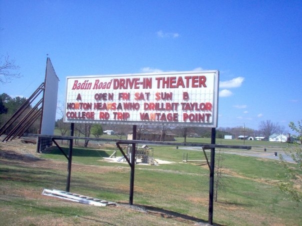 3. Badin Road Drive-In Theatre, Albermarle