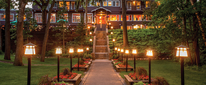 13. Visit the historic and beautiful Grand View Lodge Golf Resort and Spa on Gull Lake for the amazing views, privacy, and world-class golf, spa, and food!