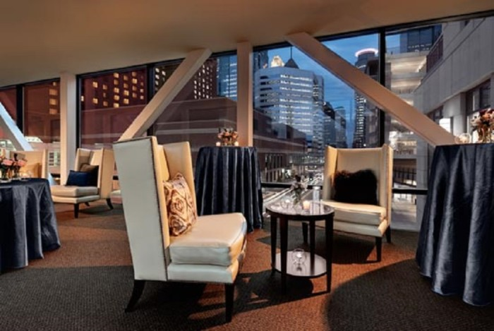 4. Hotel Ivy in Minneapolis is another world-class hotel that will make your visit to the cities unforgettable. Spend a weekend dining and exploring the best of Minneapolis, especially these unbelievable views!