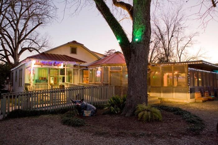4) The Magnolia Café, St Francisville