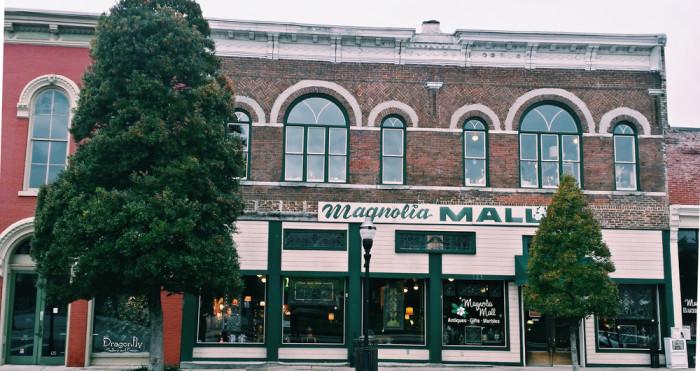 6) Magnolia Antique Gallery - Fayetteville