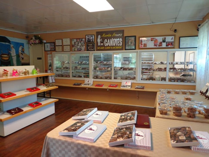 1. Martin Greer's Candies