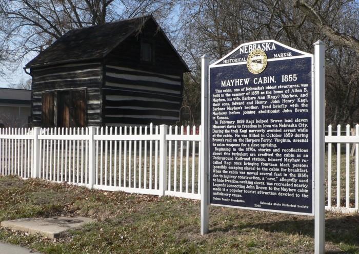 5. Mayhew Cabin and John Brown's Cave, Nebraska City