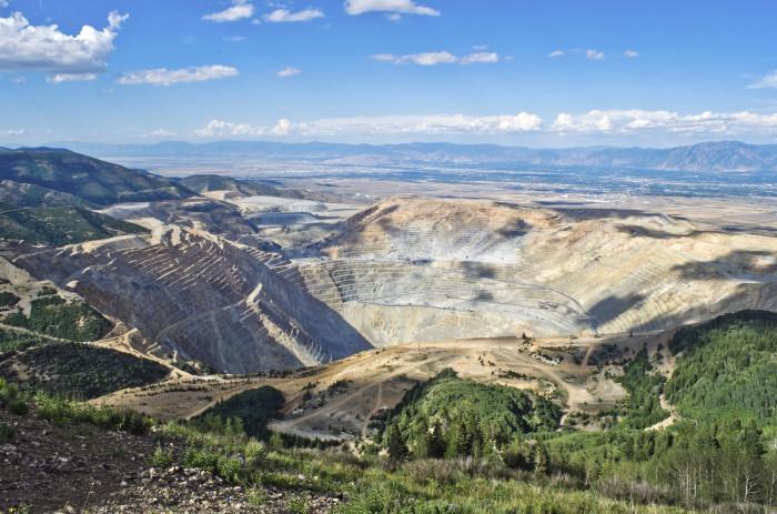 4) Kennecott Copper Mine