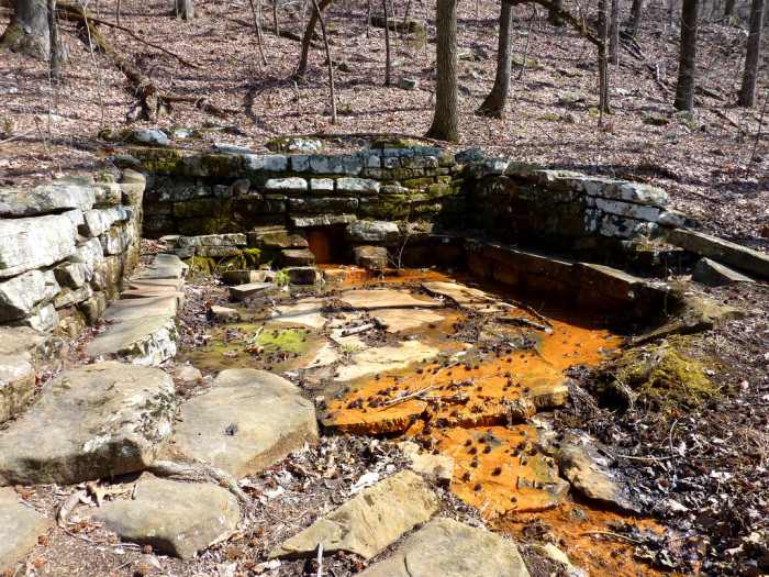 14. Go for a hike at Mount Nebo State Park on the Gum Springs Trail.
