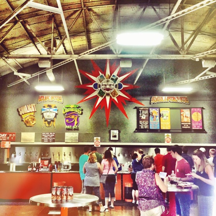 1. Spend a Day at Sun King Brewing (135 N College Ave, Indianapolis)