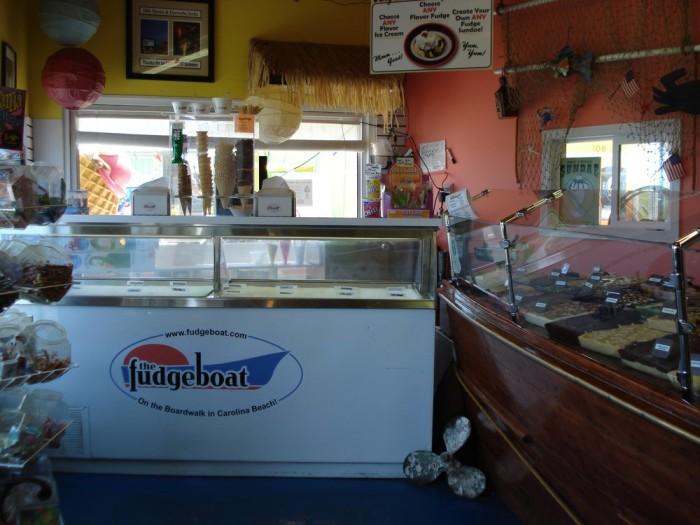 9. The Fudgeboat, Carolina Beach