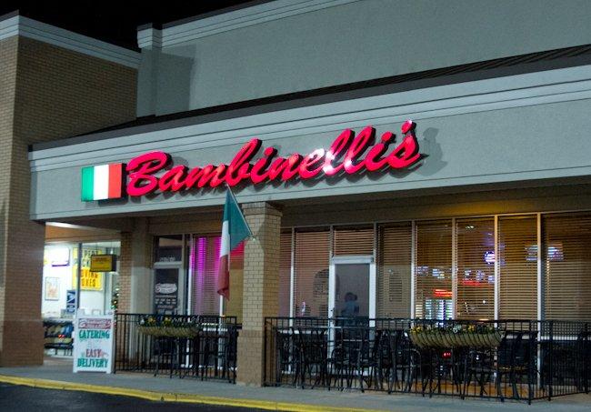 10. Bambinelli's Italian Restaurant - 4153 Lawrenceville HwyLilburn, GA 30047