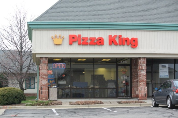 4. Home to Pizza King. Who doesn't like the idea of a train delivering you some pizza?