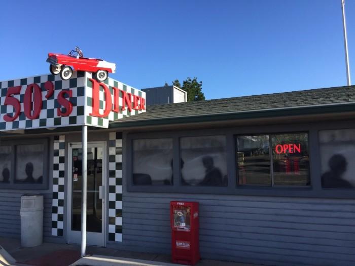 1. 50s Diner Backseat Bar, Cordes Junction