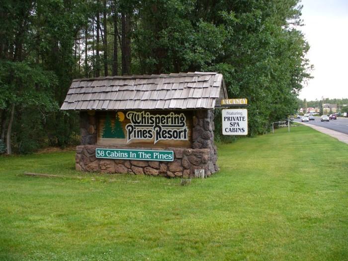 10. Whispering Pines Resort, Pinetop