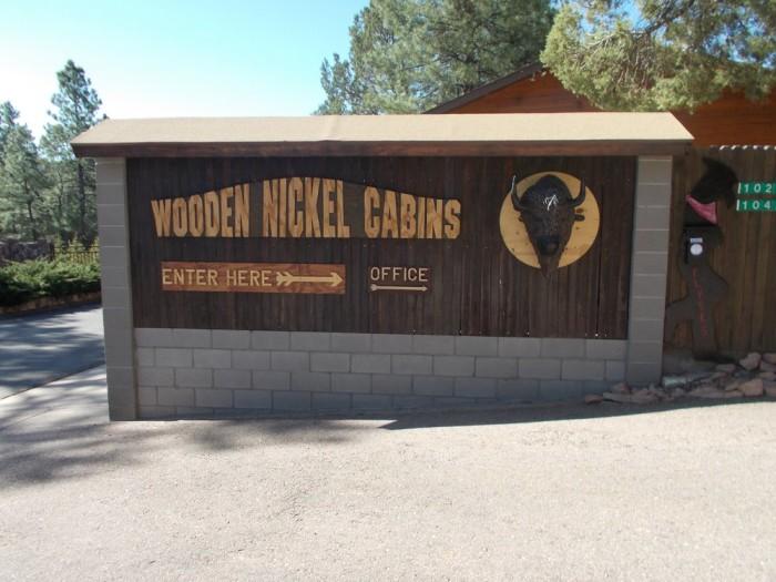 11. Wooden Nickel Cabins, Payson