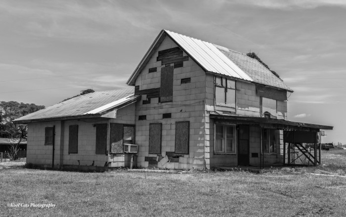 10. Abandoned and boarded up in Oklahoma.
