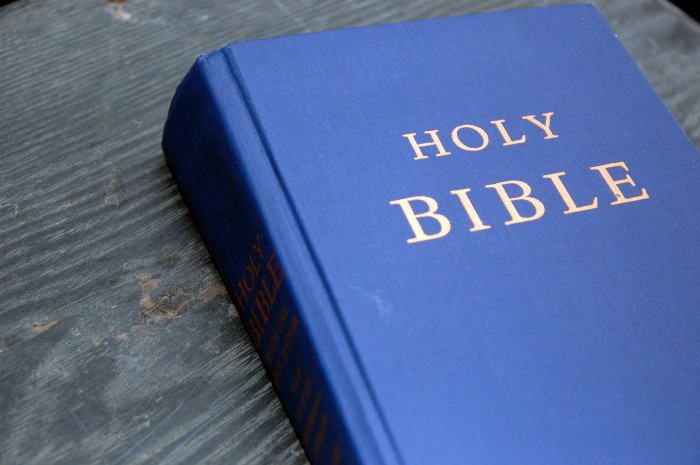 """6. A Bible...because we are in the """"Bible Belt"""" of America."""