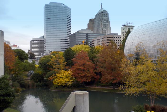 9. Myriad Botanical Gardens: Oklahoma City