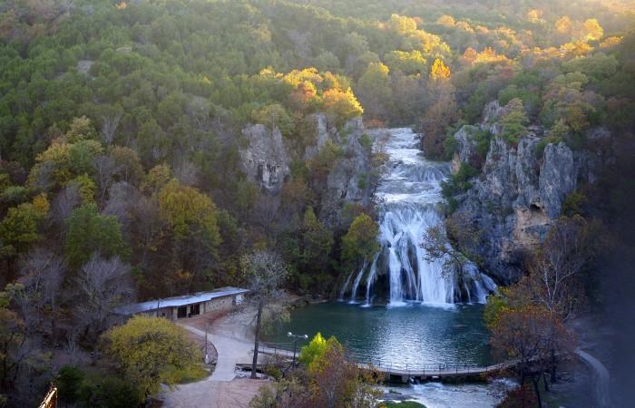 7. Turner Falls Park: Davis