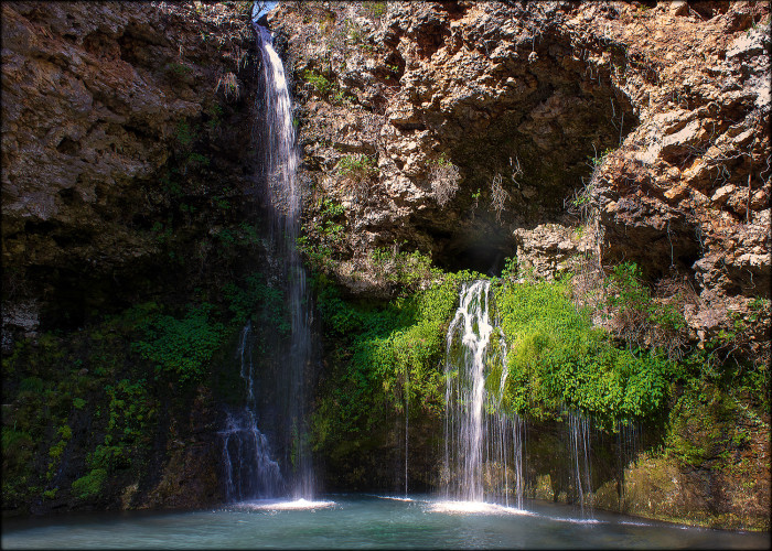 10. Natural Falls State Park: Colcord