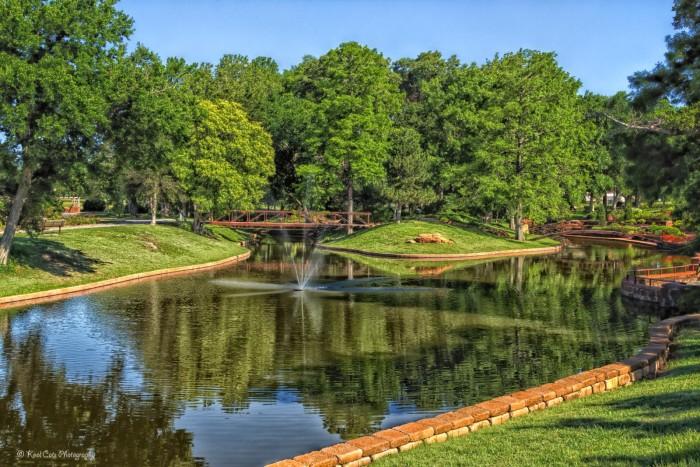 1. The Will Rogers Gardens: Oklahoma City