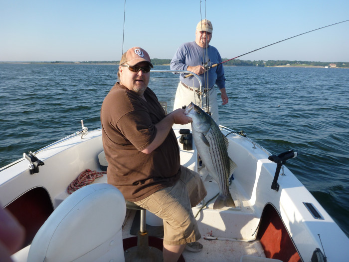 7. Fishing...With all the great fishing spots in Oklahoma who wouldn't love to cast a line?