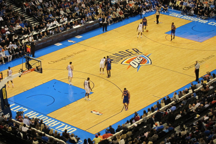 13. Our Thunder...We are proud of our NBA basketball  team.