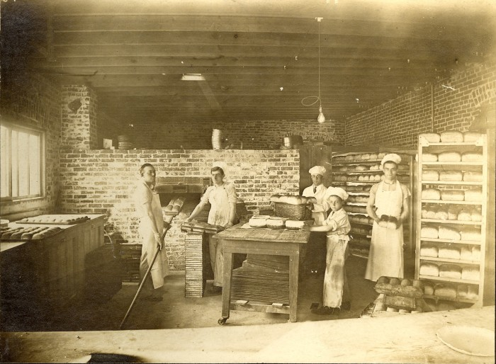 7. This photo was found in the early 1970s in an antique store in Tulsa.  The bakery was most likely located in Oklahoma, possibly Kansas, and dates back to the teens or 1920's.