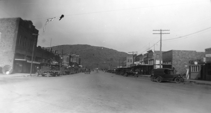 9. The date is unknown of this photo taken in the city of Erick in Beckham County.