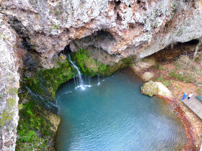 3. Natural Falls State Park: Delaware County (near West Siloam Springs, OK)