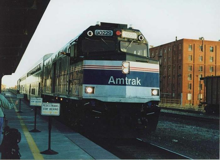 6. Heartland Flyer Train (Amtrak): Oklahoma City