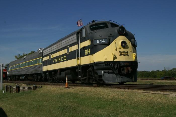 2. OK Railway Museum: Oklahoma City