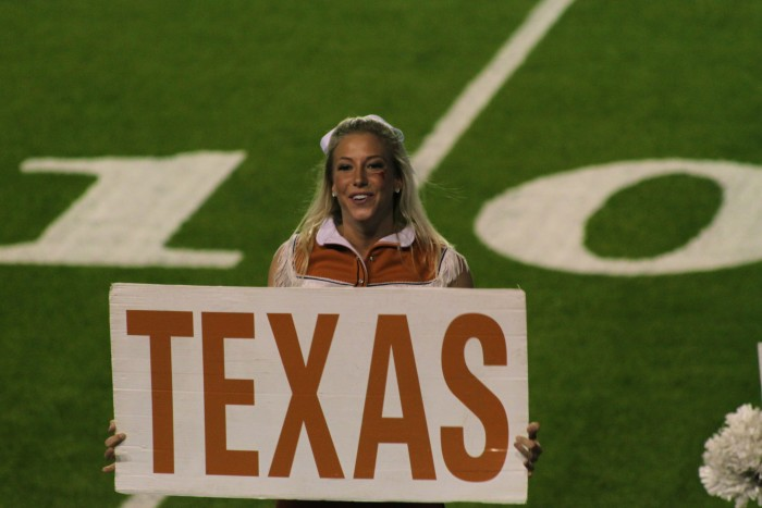 11. Rooting for Texas.
