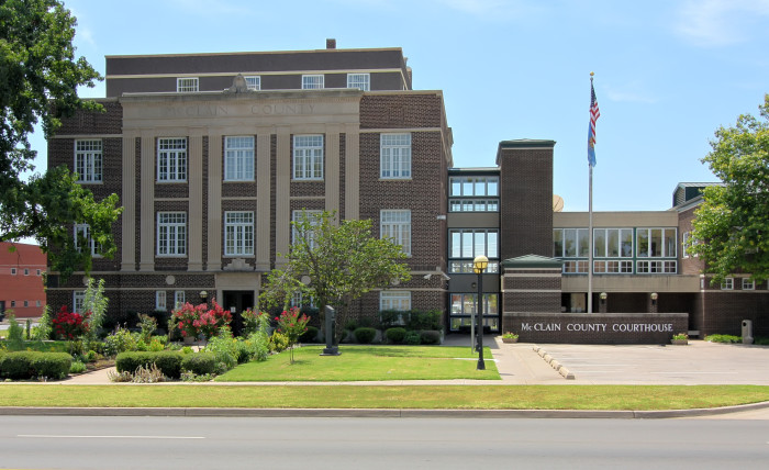 4. McClain County: Population - 34,506