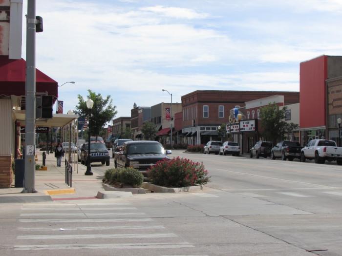 8. Kingfisher County: Population - 15,034