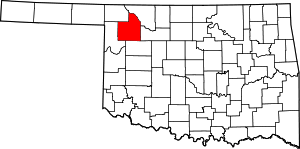 7. Woodward County: Population - 20,081