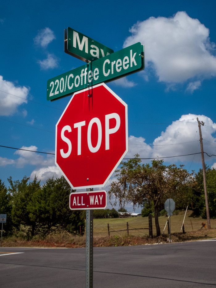 4. Coffee Creek Rd.