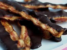 8. Chocolate Dipped Bacon
