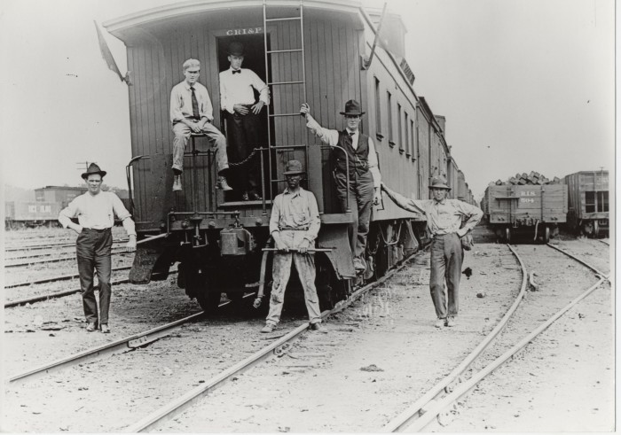 4. Railroad Workers - Then