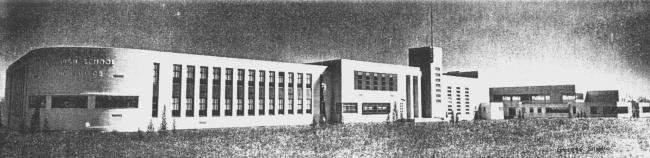 8. Bartlesville High School - Then