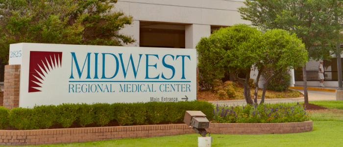 7. Midwest Regional Medical Center: Midwest City, OK