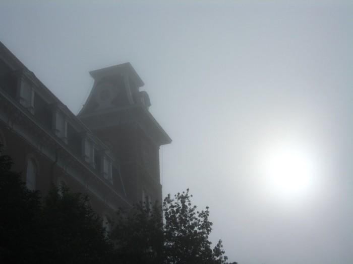 7. Old Main in Fog