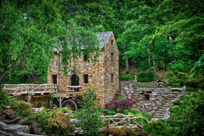 1. North Little Rock: The Old Mill