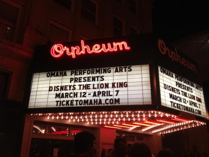 12. The Orpheum Theater, Omaha
