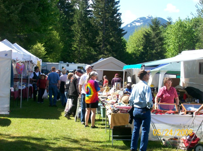 2. Packwood Flea Market