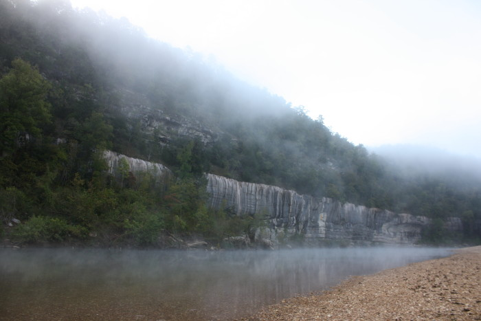 1. Misty Painted Bluff